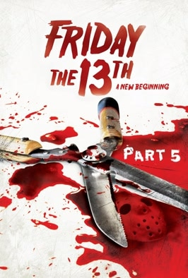 Friday The 13th Part V:  A New Beginning: Ten years after killing a hockey-masked murderer, a teen is confronted with a new spate of slayings