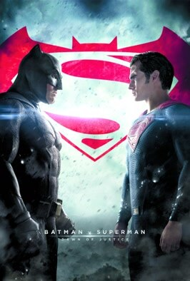 Batman V Superman: Dawn Of Justice: Get ready for an earth-shattering battle of the egos as Ben Affleck's Batman picks a fight with Superman Henry Cavill. (2016)