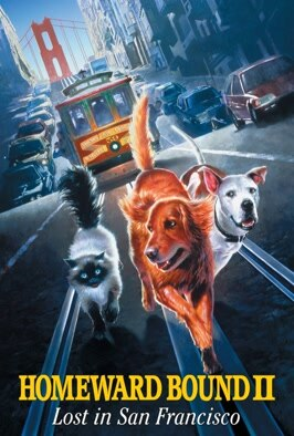 Homeward Bound II: Lost In San  Francisco: Family adventure about three pets who embark on a series of hair-raising escapades in San Francisco