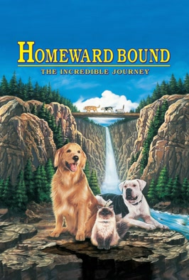 Homeward Bound: The Incredible Journey: Three pets left behind by their holidaying owners go on an epic trek to find their masters