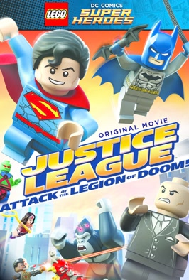 Lego DC Comics Super Heroes Justice League.