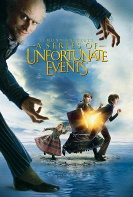 Lemony Snicket's A Series Of Unfortunate Events: Three orphans dare to outwit their fiendish uncle Count Olaf (Jim Carrey) in an amusingly grim fairytale