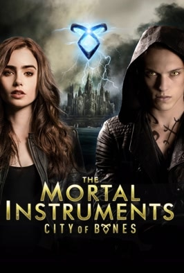 The Mortal Instruments: City of of Bones: Teen Lily Collins is drawn into a dark world when she learns she's from a line of warriors who protect humanity from demons