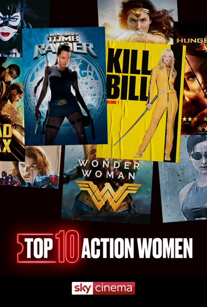 Top Ten: Action Women - Top Ten: Action Women (S2020 E19)