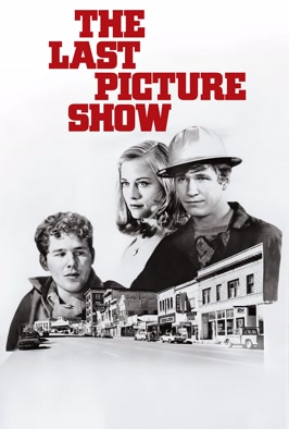 The Last Picture Show -   Director's Cut: Cybill Shepherd is the small town Jezebel tempting Texas teen Jeff Bridges, in this extended cut of Peter Bogdanovich's evocative coming-of-age drama
