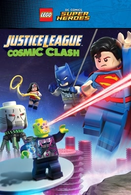 Lego DC Comics Super Heroes: Justice League - Cosmic Clash: Batman and co must come to the rescue when Earth is targeted by villainous super-computer Brainiac.