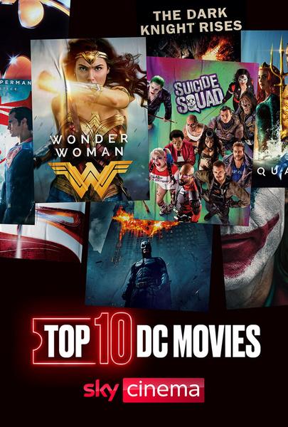 Top Ten: DC Movies - Top Ten: DC Movies (S2020 E31)