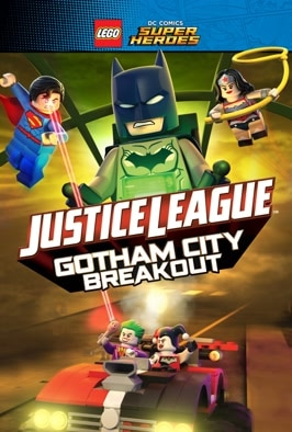 Lego DC Comics Super Heroes Justice League: Gotham City Breakout: When Batman takes a vacation it's up to the Justice League to keep the peace in Gotham.