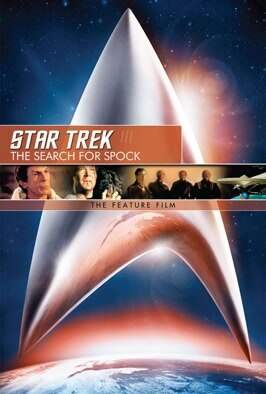 Star Trek III: The Search For Spock: The crew of the Starship Enterprise steal their old ship and set out to free the trapped soul of Spock (the late Leonard Nimoy)