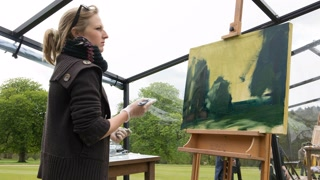 Landscape Artist Of The Year: Lyme Park