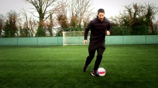 Football: Dribbling With Jamie Redknapp