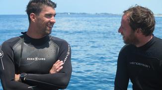 Shark School With Michael Phelps image
