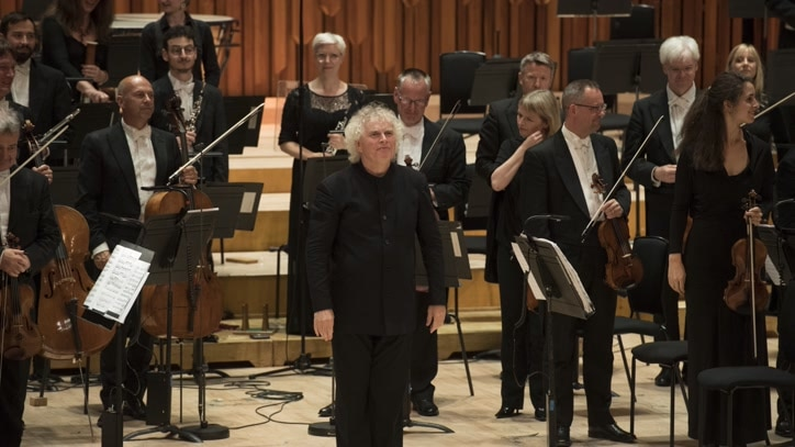 Watch Sir Simon Rattle Conducts... Online