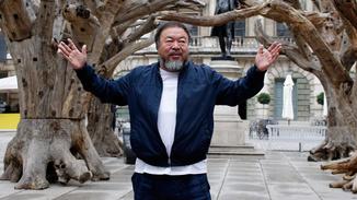Ai Weiwei At The RA image