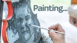 Painting... Sue Johnston