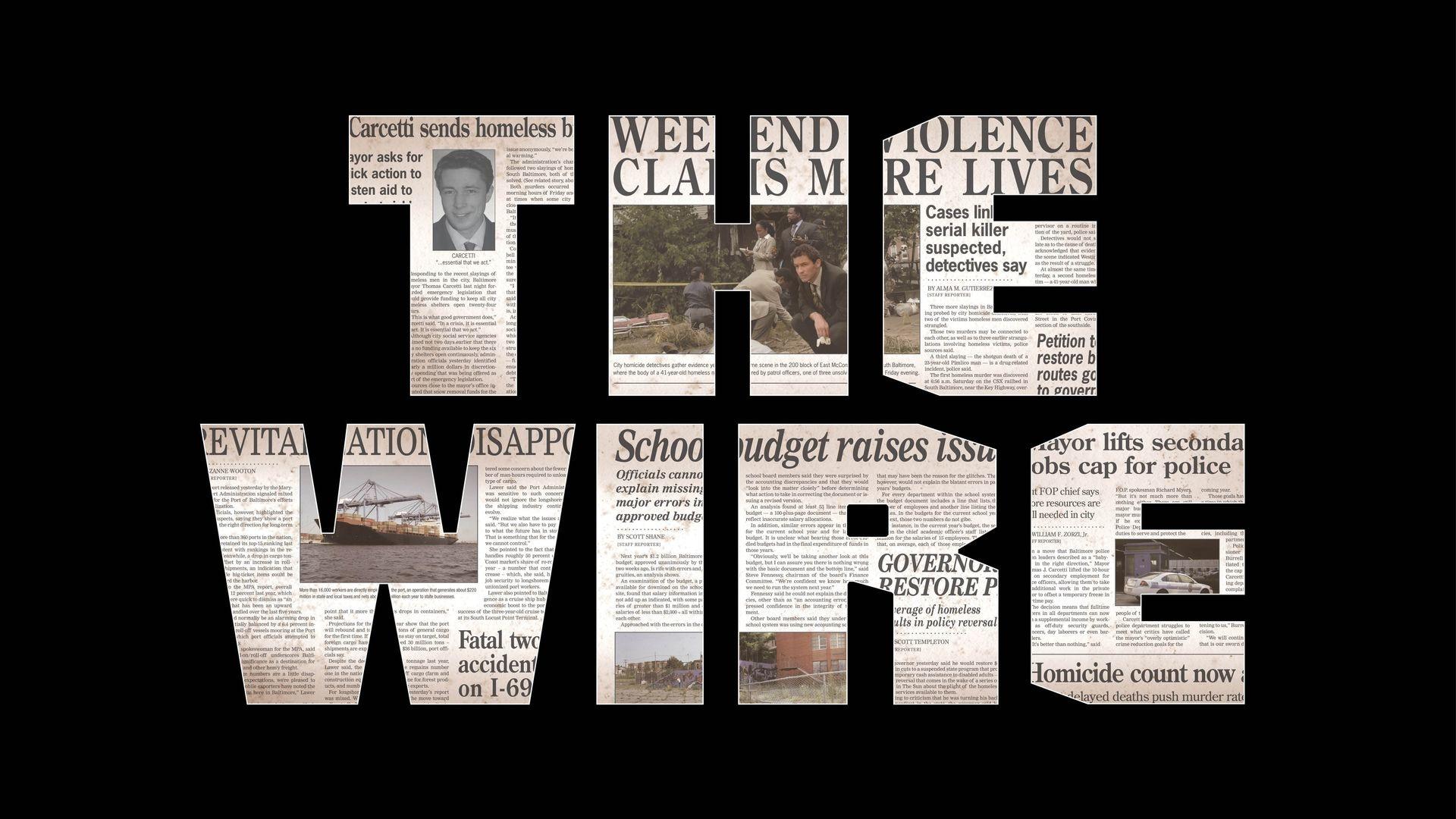 Watch The Wire Online - Stream Full Episodes