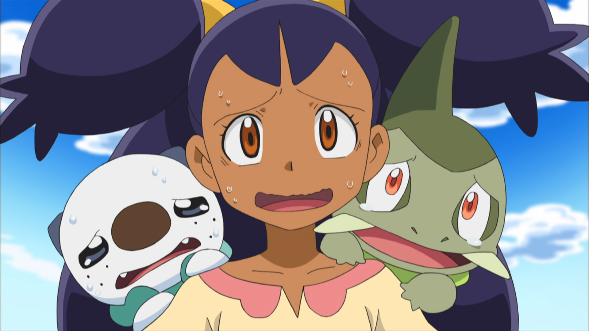 Iris And Excadrill Against The Dragon Bu