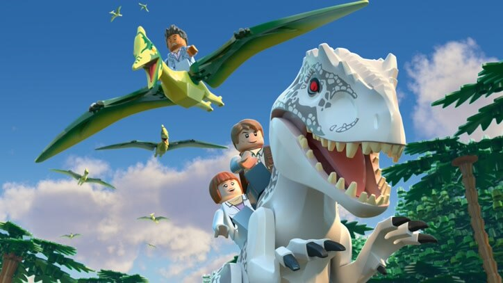 Watch LEGO Jurassic World: Indominus Esca Online