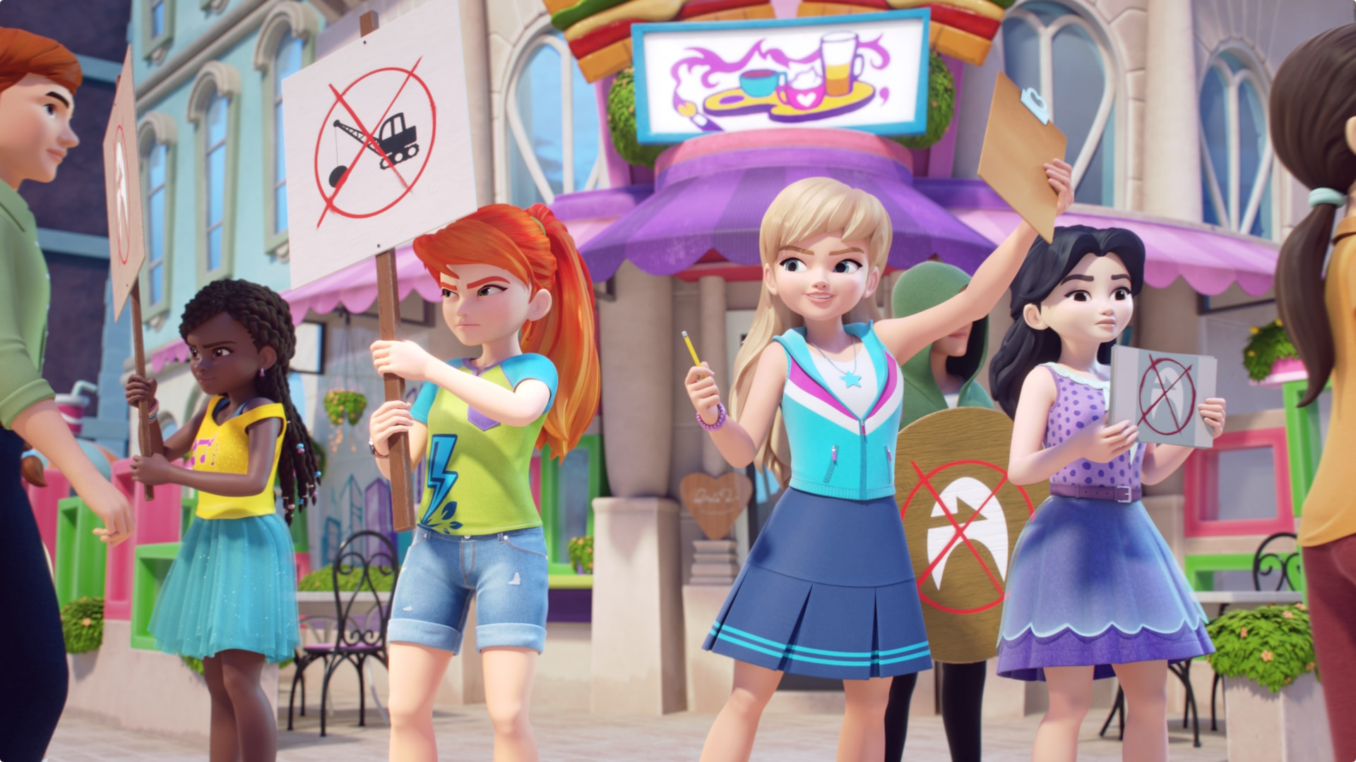 Watch Lego Friends Girls On A Mission Online Stream Full Episodes