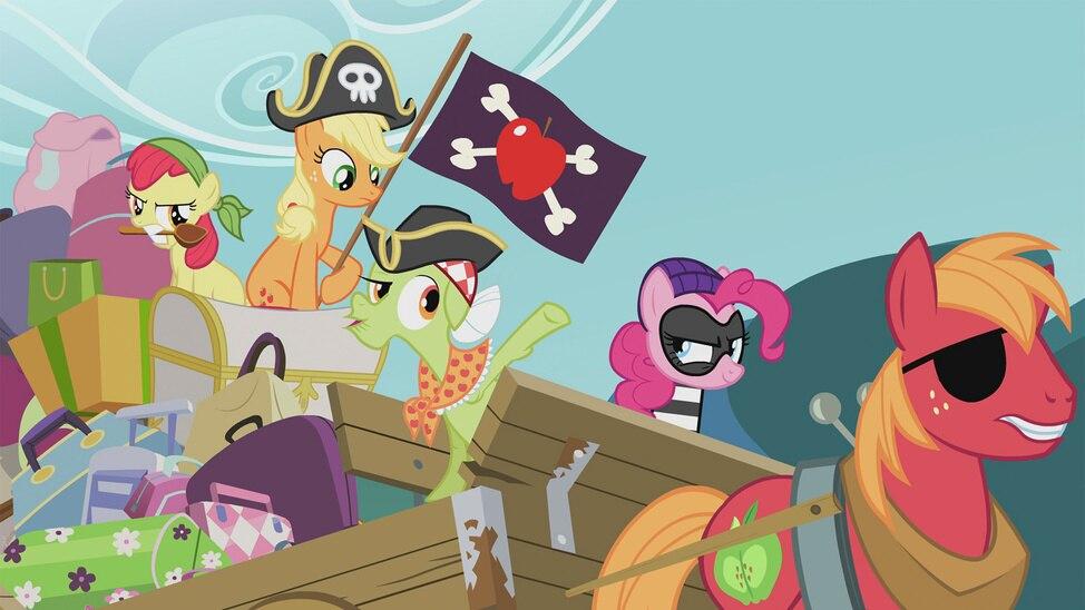 Pinkie Apple Pie