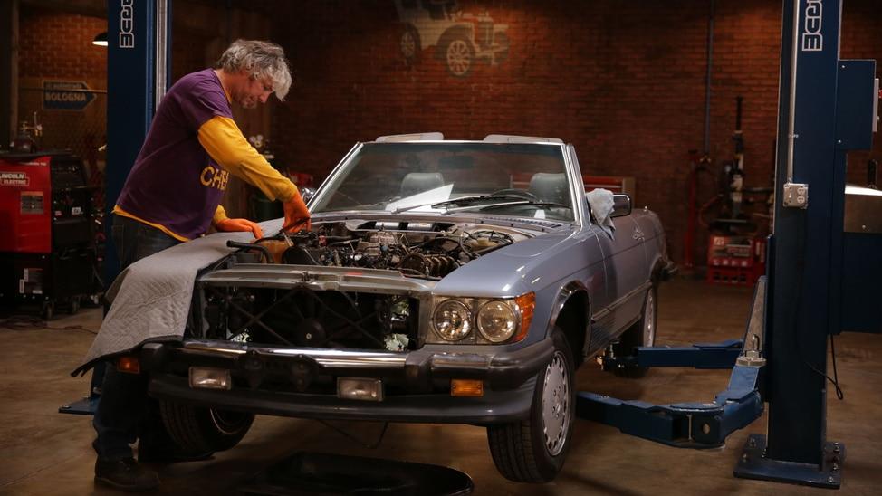 Episode 1 - 1987 Mercedes 560sl