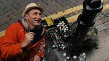 The Chewing Gum Man: A Portrait Of The Artist Ben Wilson
