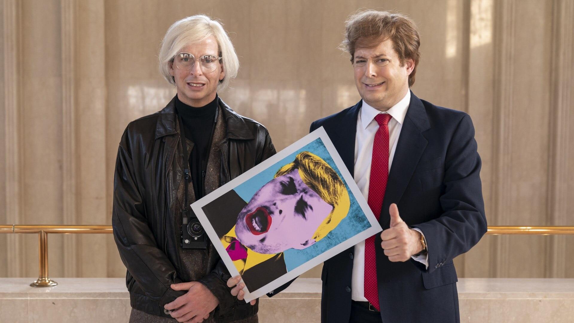Donald Trump And Andy Warhol