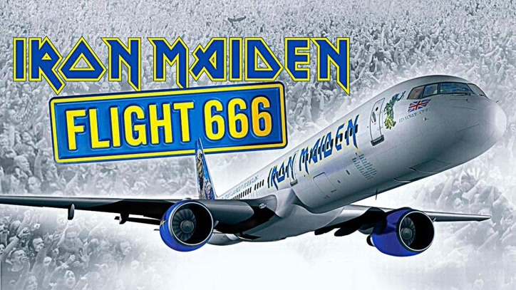 Watch Iron Maiden - Flight 666 Online