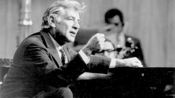 Leonard Bernstein: Larger...