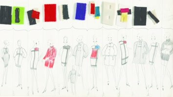 The Drawings Of Yves Saint...