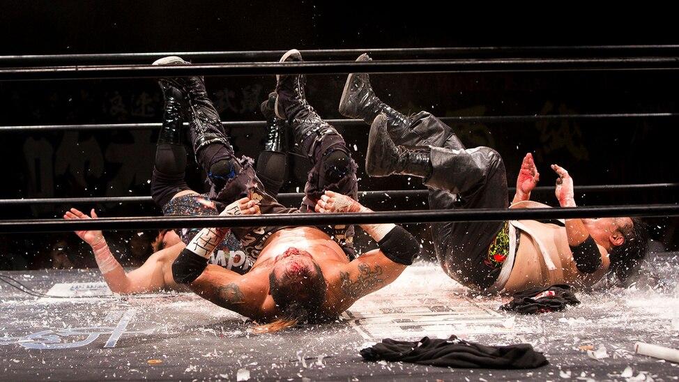 The Craziest Wrestling in Japan