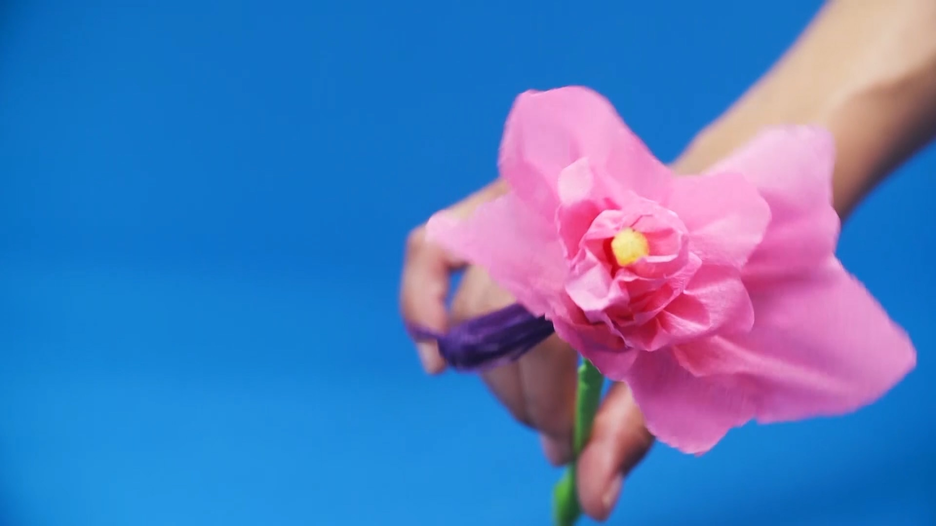 How To Make a Paper Flower Bouquet ...