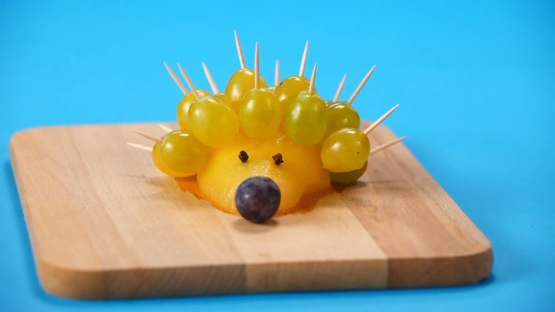 How To Make a Fruit Hedgehog