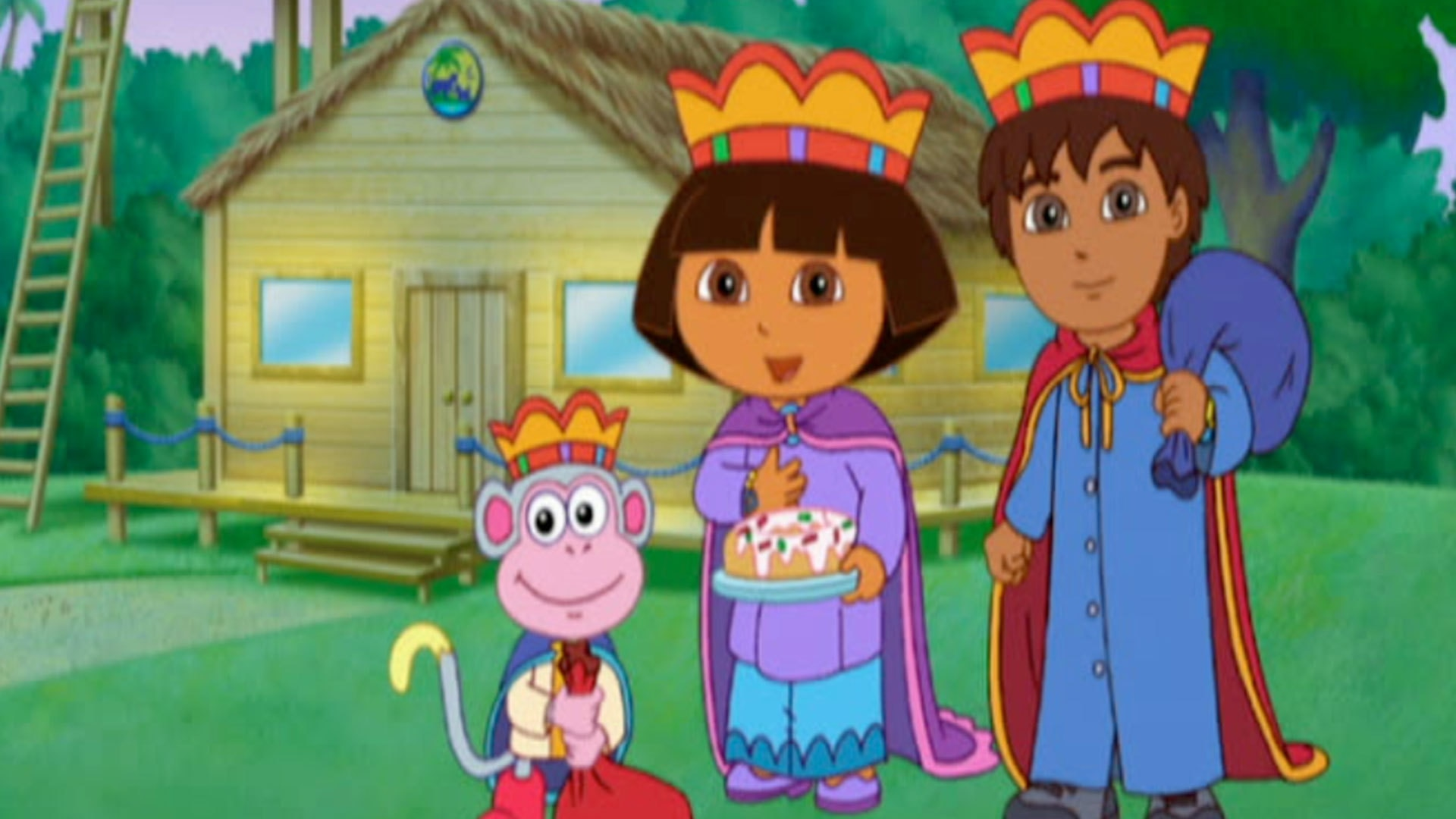 Dora Save Three Kings' Day