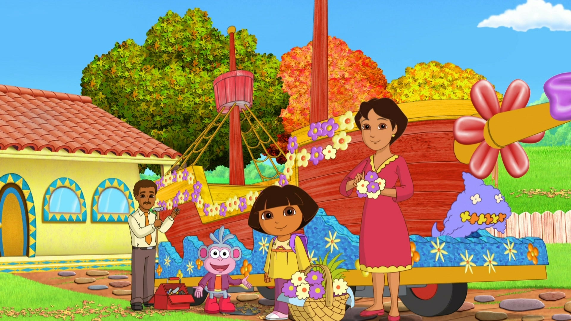 Dora's Big Thanksgiving Day Parade