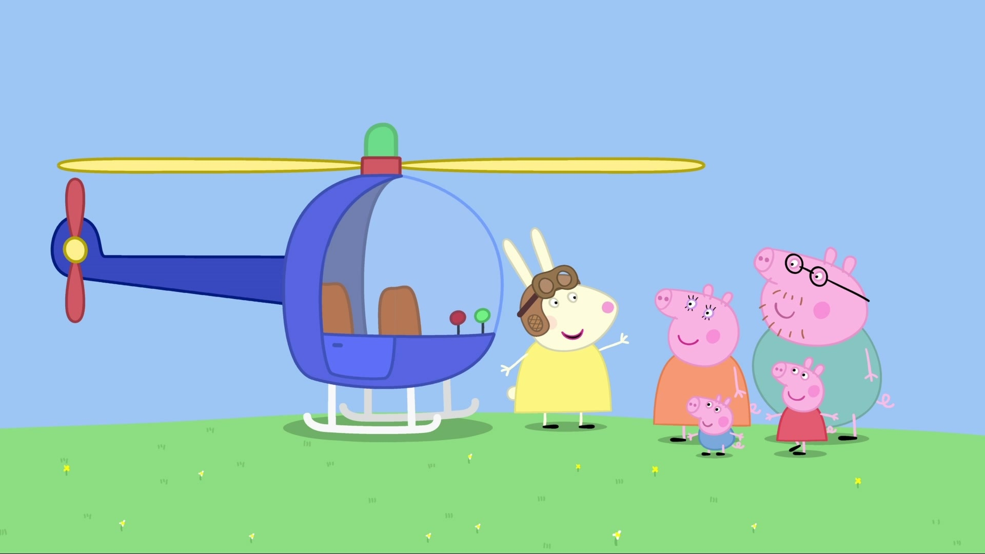 Miss. Rabbit's Helicopter