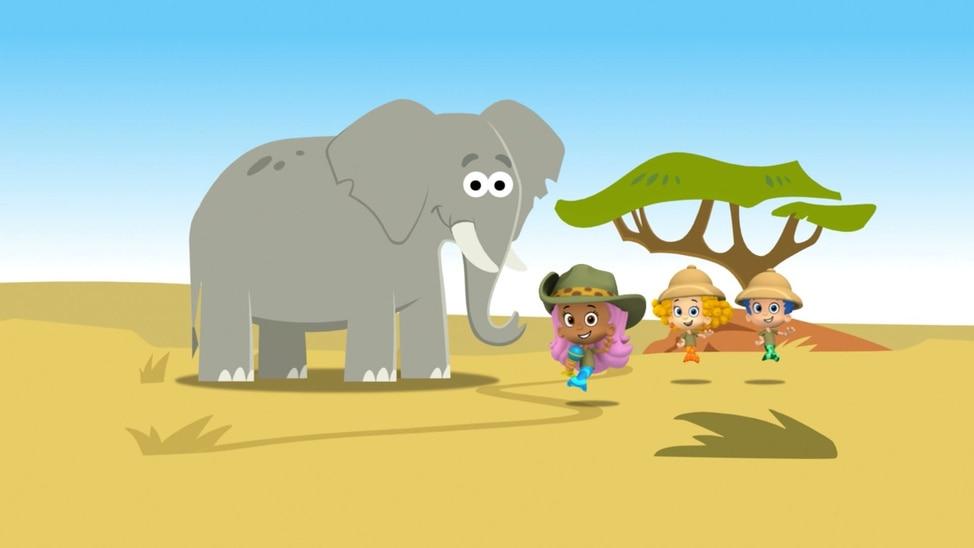 EPISODE 46 - The Elephant Trunk-A-Dunk!