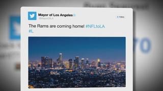 Rams Return Home