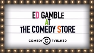 Ed Gamble At The Comedy Store