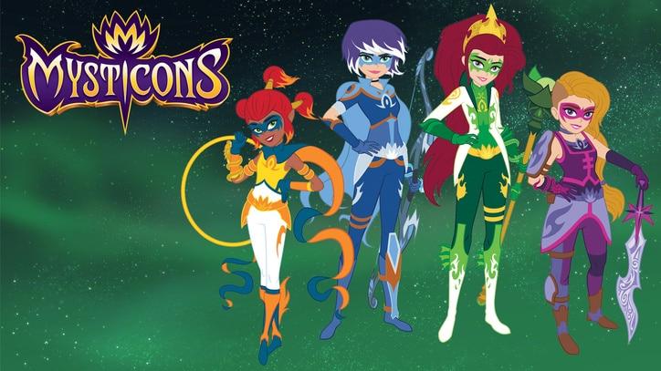 Watch Mysticons Online