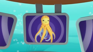 Octonauts And The Monster Map (Octopus)