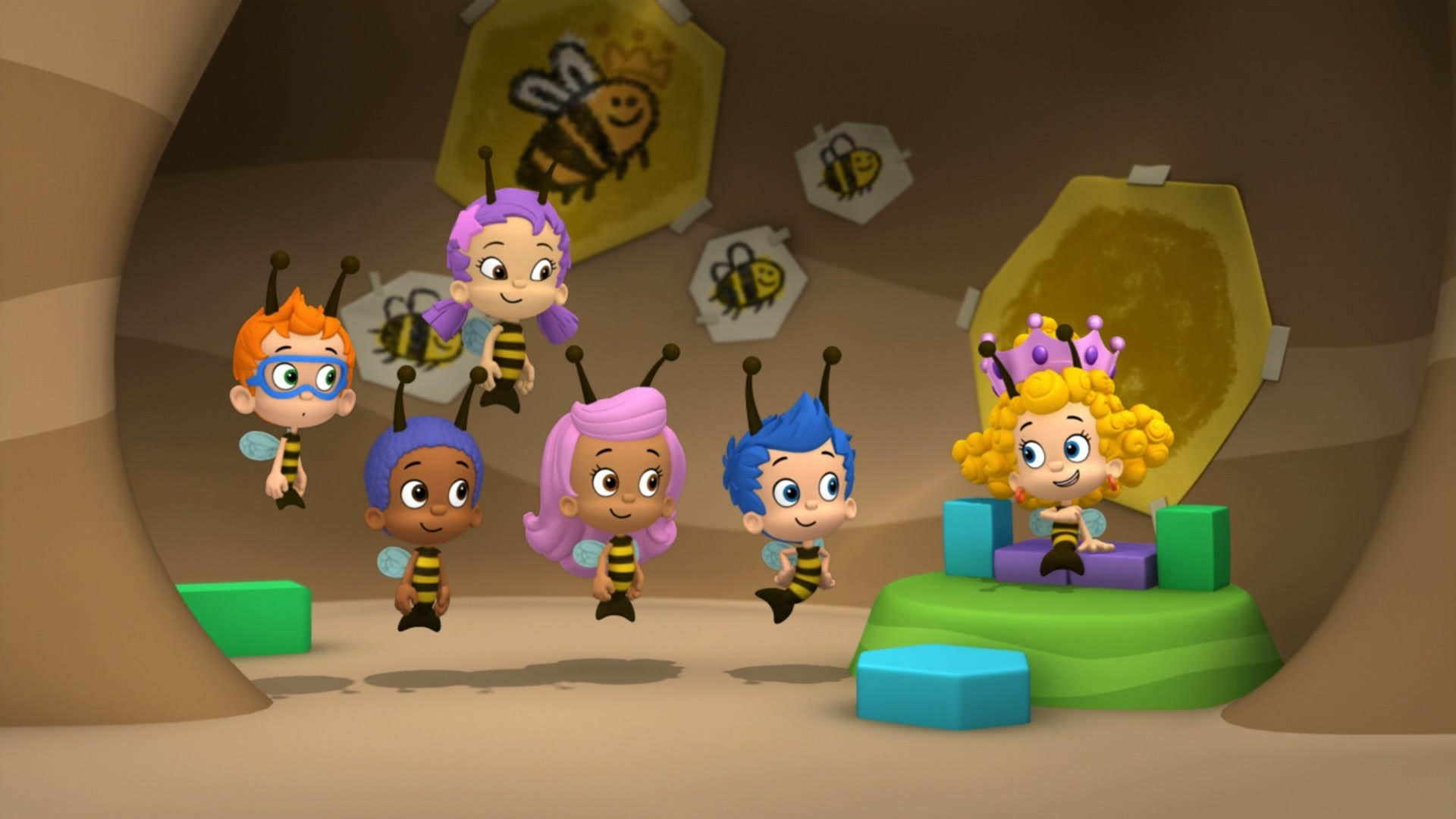 The Bubble Bee-athalon!
