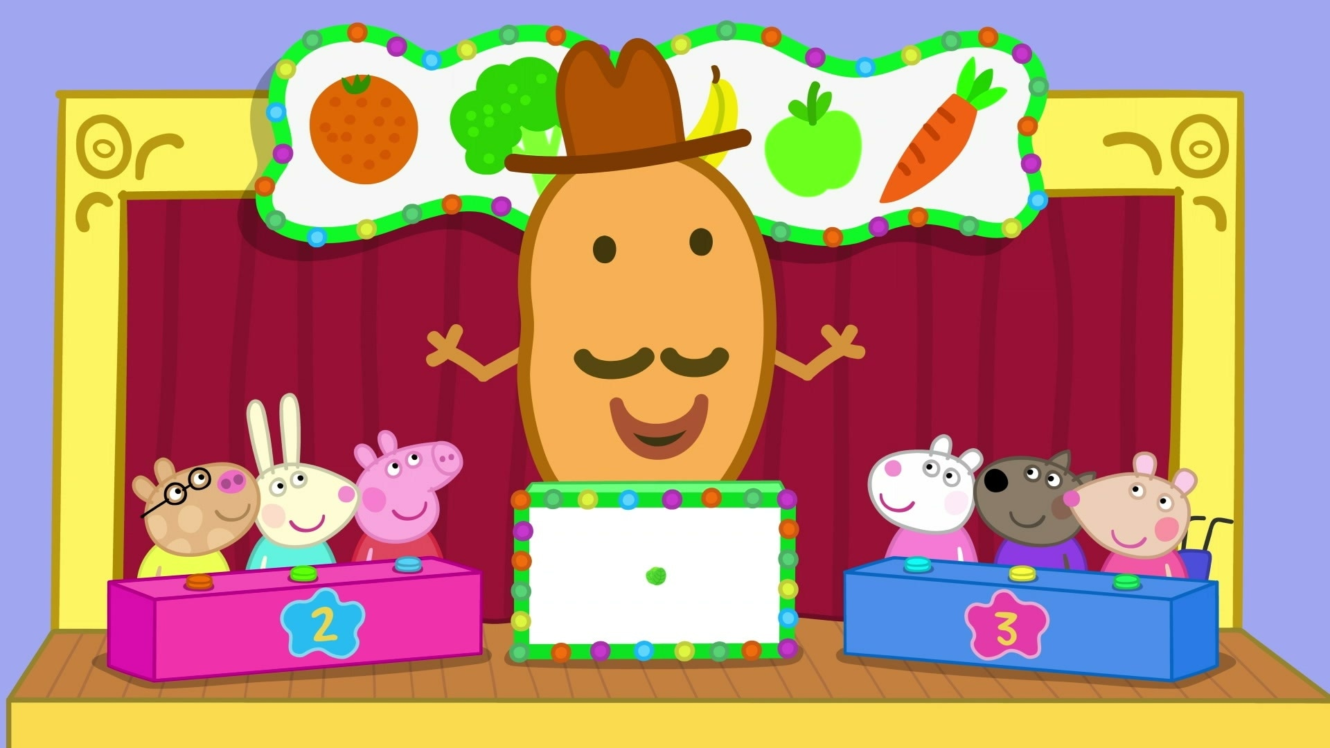 Mr Potato's Fruit & Vegetable Quiz