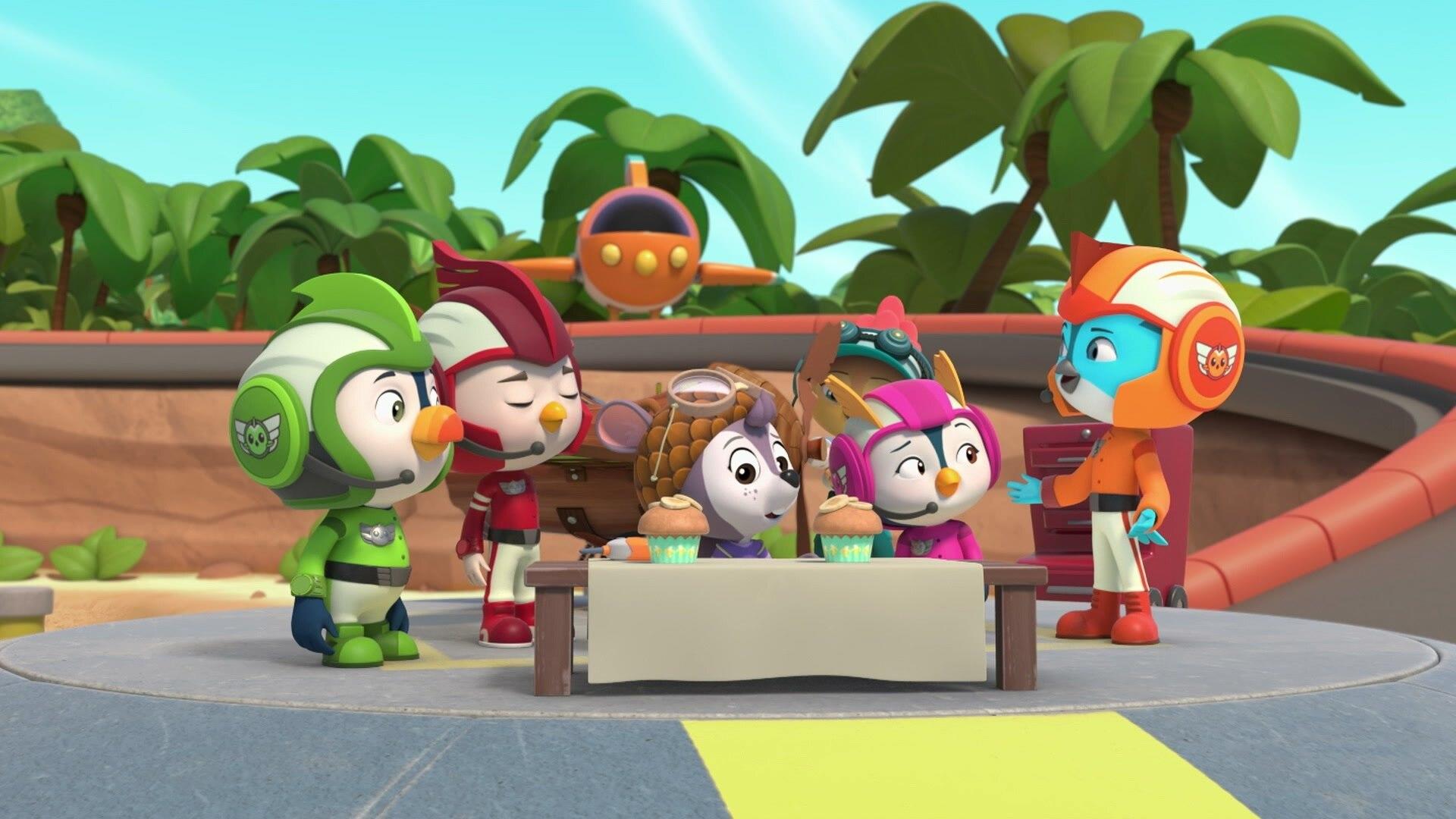Flying Banana Bandits!/Penny's Chillin' Playdate