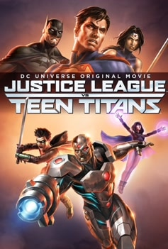 Justice League Vs. Teen Titans image