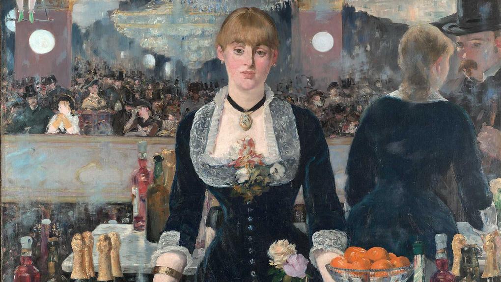 Manet - A Bar At The Folies-Bergere