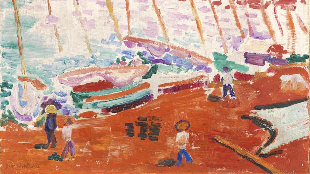 Matisse - The Red Beach