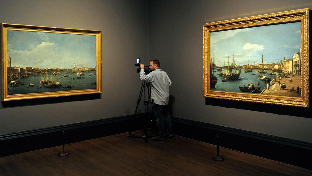 Canaletto - Venice: The Bacino Di San Ma
