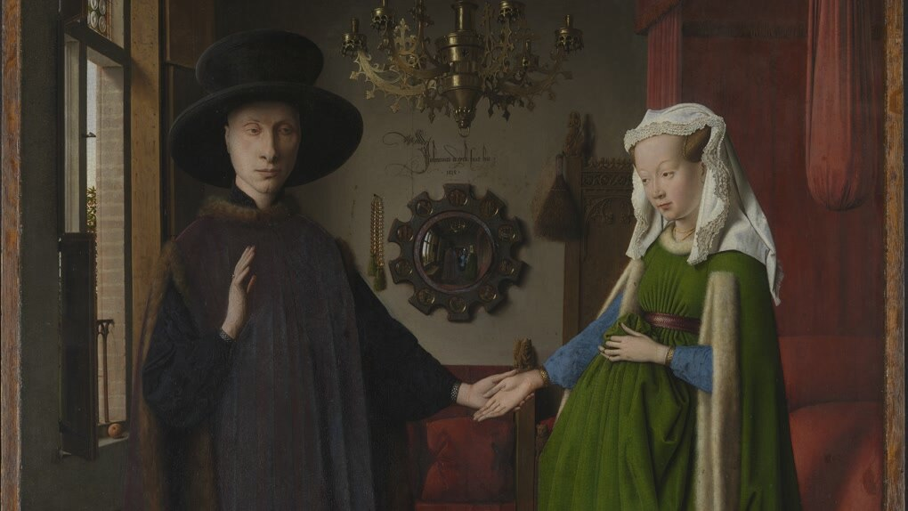 Eyck - The Arnolfini Portrait