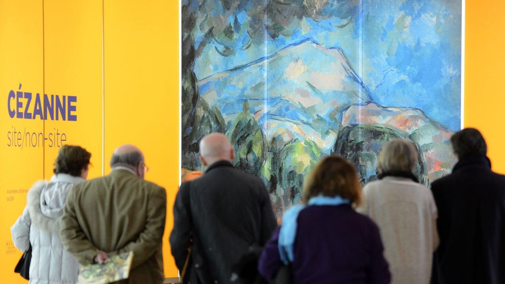 Cezanne - Montagne Sainte-Victoire With